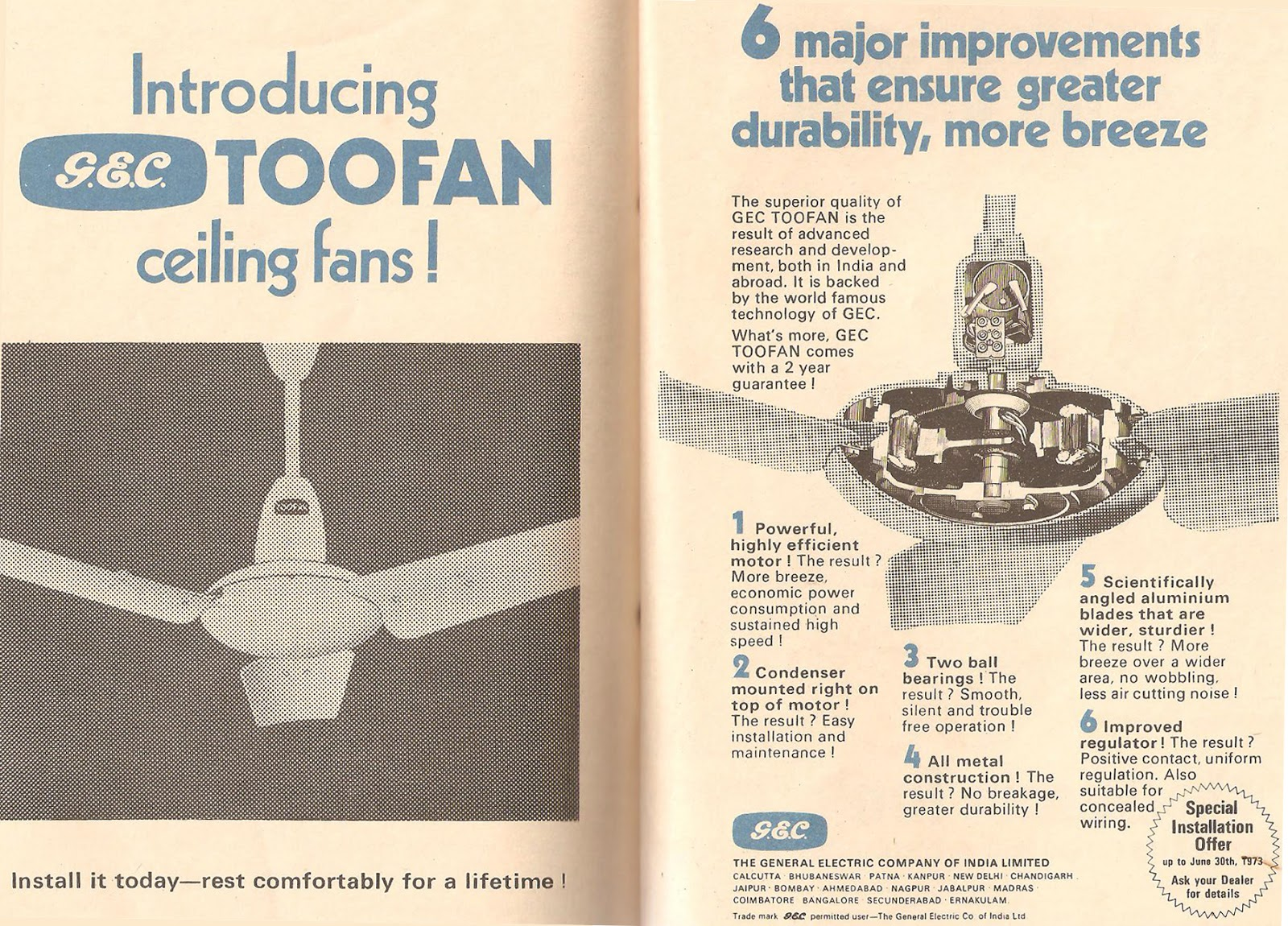 TOO FAN Newspaper Ad