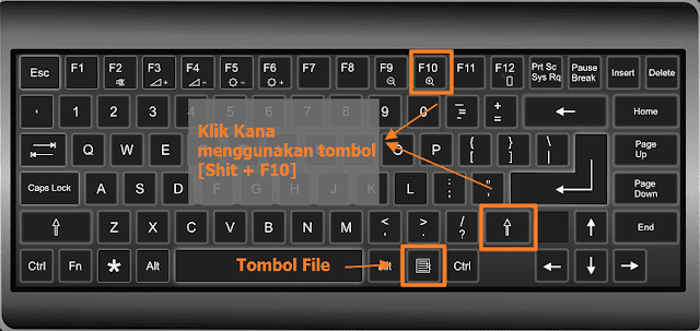 cara-klik-kanan-di-keyboard