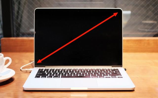 أفضل حجم شاشة كمبيوتر محمول