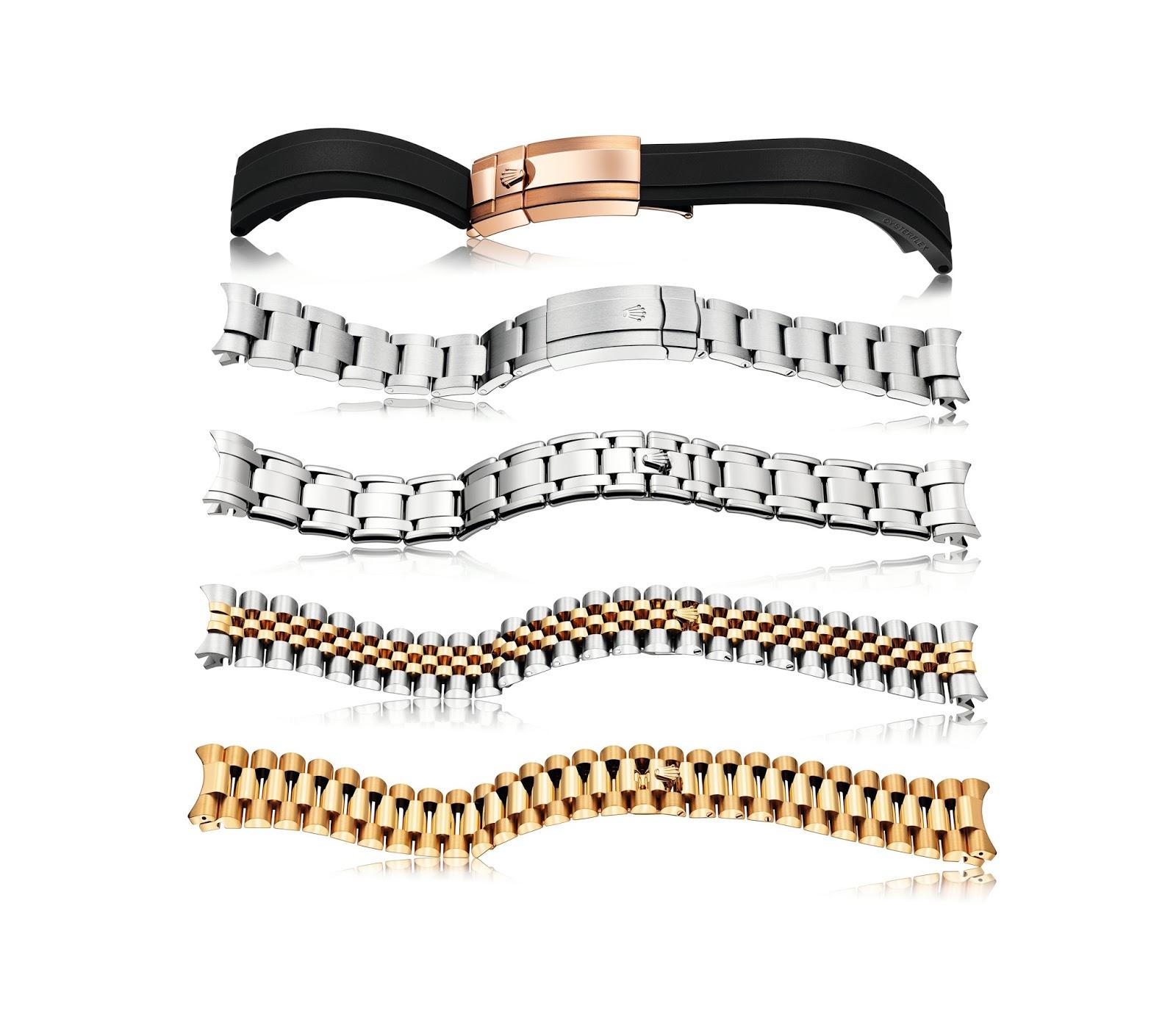 Five Rolex Bracelet Types - Rob's Rolex Chronicle