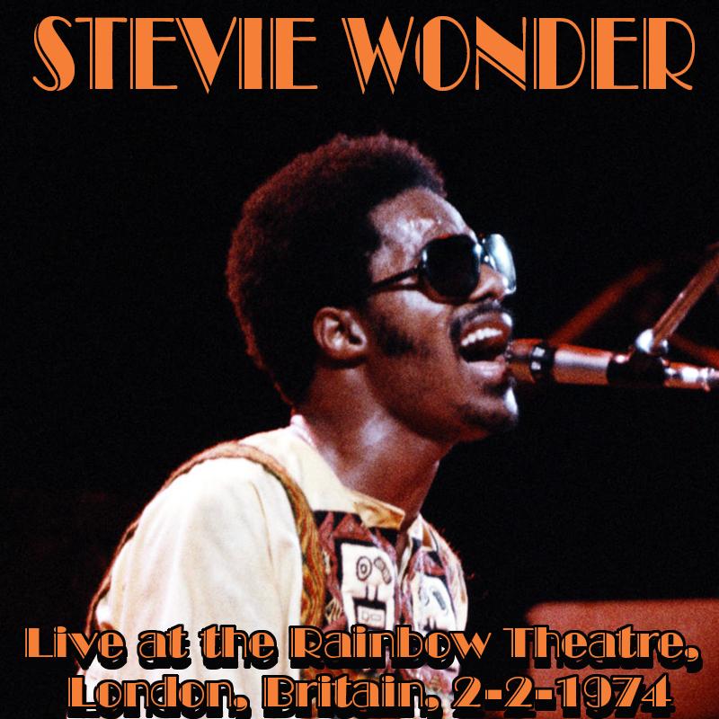 Stevie Wonder live at Rainbow Theatre, London, Britain,  2-2-1974