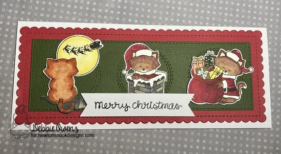 Merry Christmas features Newton's Curious Christmas, Slimline