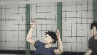 ハイキュー!! アニメ 2期18話 赤葦 | HAIKYU!! Karasuno vs Wakutani minami