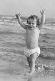 Micah at Galveston beach