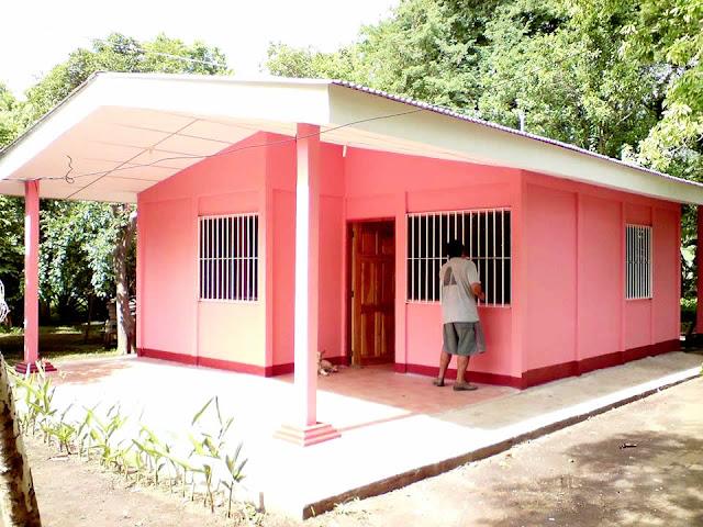 Casa prefabricada en Nicaragua