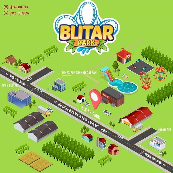 Lokasi Blitar Park