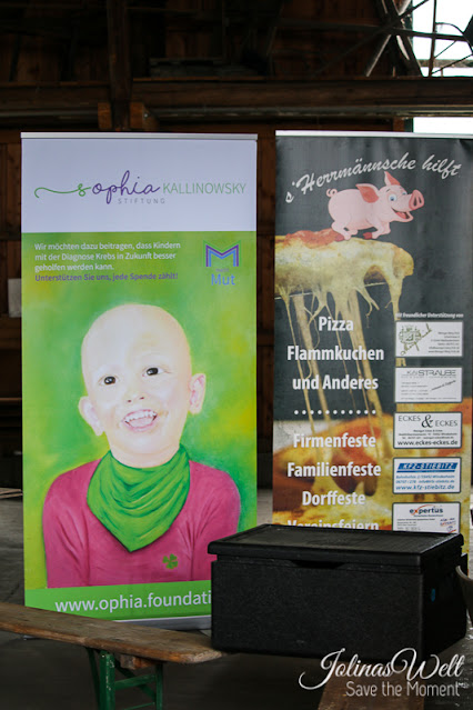 Plakat der Sophia Kallinowsky Stiftung beim Herrmännche