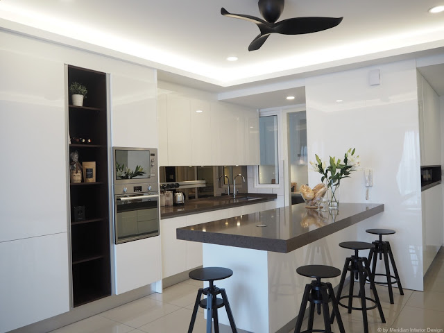 Click to see our completed work - MODERN KITCHEN FOR CONDO