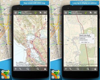 تحميل تطبيق الملاحة Locus Map Pro - Outdoor GPS