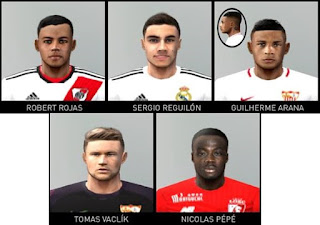 PES 6 Facepack v5 by Gabo Facemaker