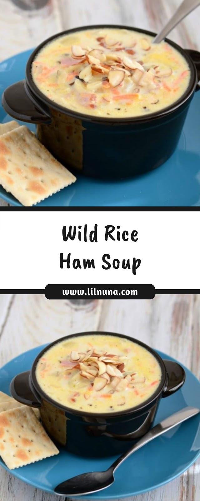 Wild Rice Ham Soup