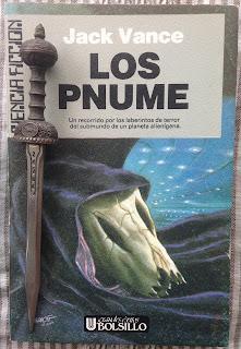 Portada del libro Los Pnume, de Jack Vance