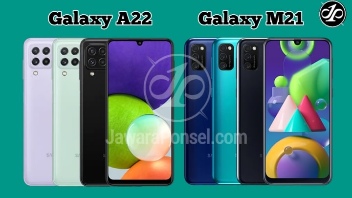 Pilih mana Samsung Galaxy A22 VS Galaxy M21