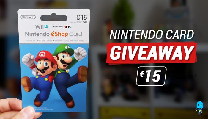 Nintendo Gift Card Giveaway