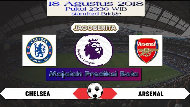 Prediksi Bola Chelsea vs Arsenal 18 Agustus 2018
