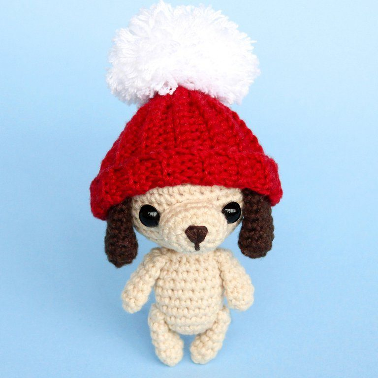 Dog amigurumi