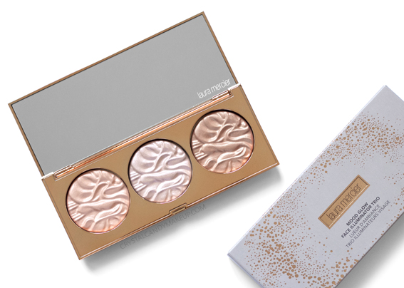 Laura Mercier Mood Glow Face Illuminator Trio Review Holiday 2018
