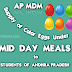 AP Mid Day Meal (MDM) Guidelines For Supply of Colorful Eggs To Students