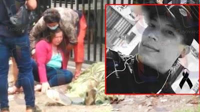Su madre lo vio morir, sicarios lo atacaron frente a su casa en Garzón