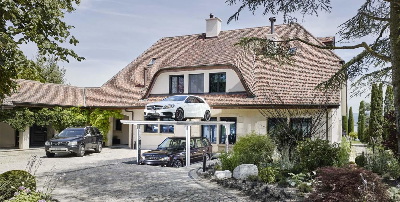 Keren! Parkir Mobil Bawah Tanah Untuk Rumah Yang Minim Lahan