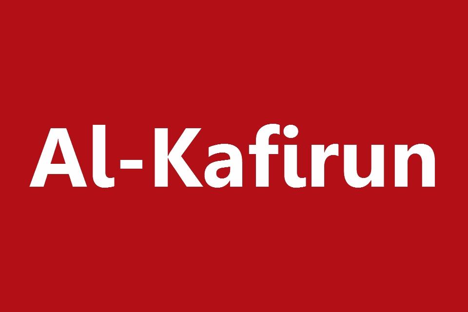 Surat Al Kafirun Arab Latin Dan Terjemahannya Juz 30 Full