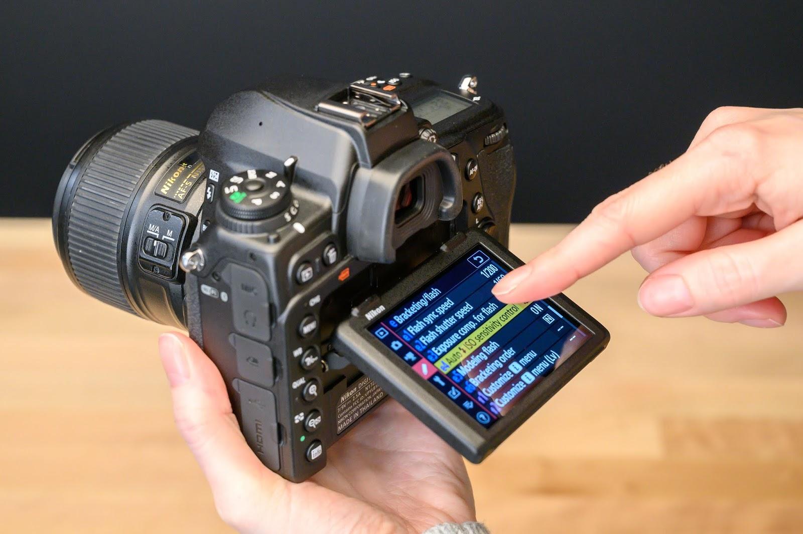 Сенсорный экран в Nikon D780