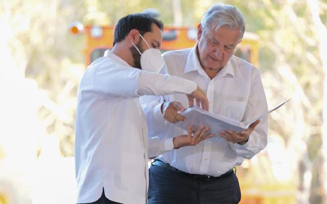 Vila y 105 alcaldes se adhieren al Acuerdo Nacional por la Democracia de AMLO