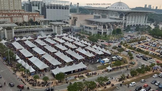 Suasana Bazaar Ramadan di Putrajaya