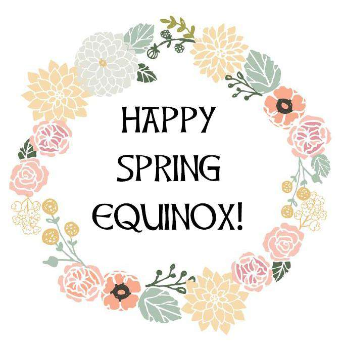 Spring Equinox Wishes Awesome Picture