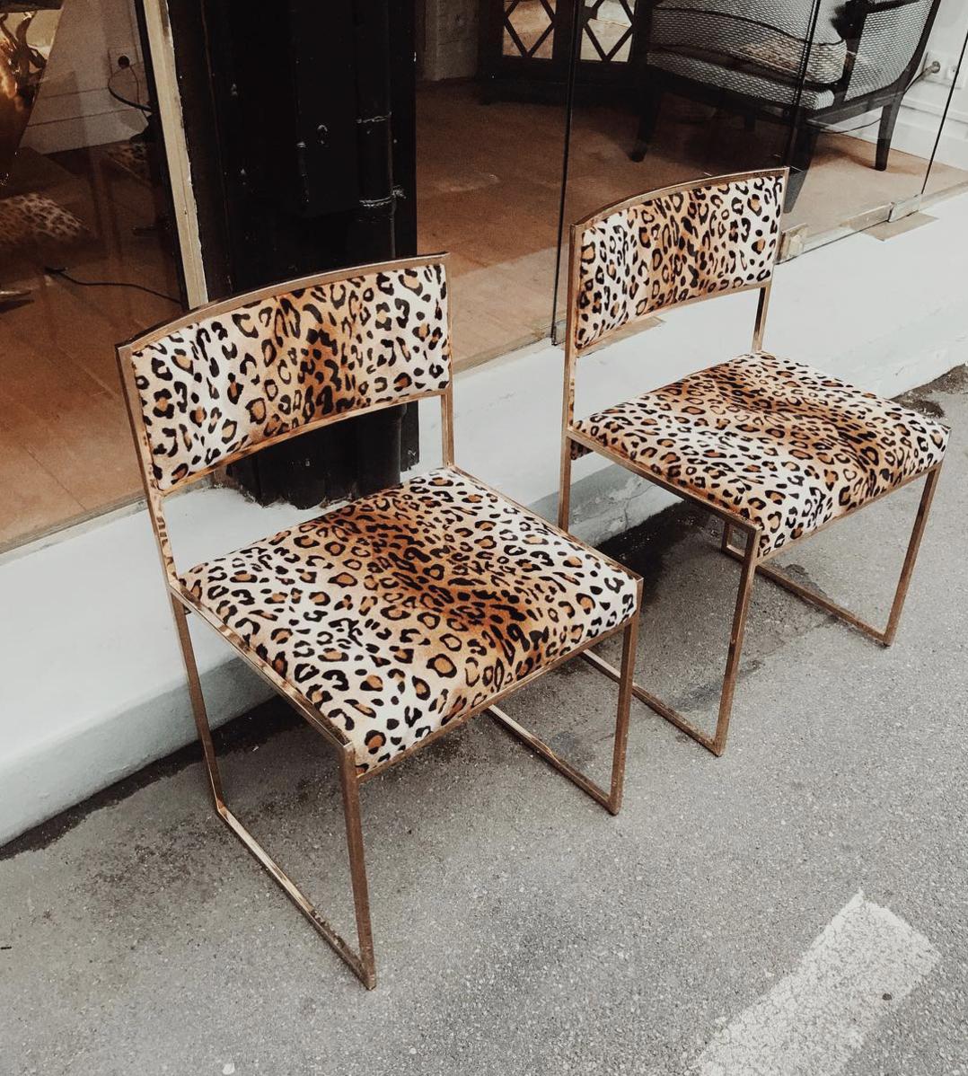 Leopard chairs, taken by Vivian Hoorn. | decor, inspiration, aesthetic, design | Allegory of Vanity