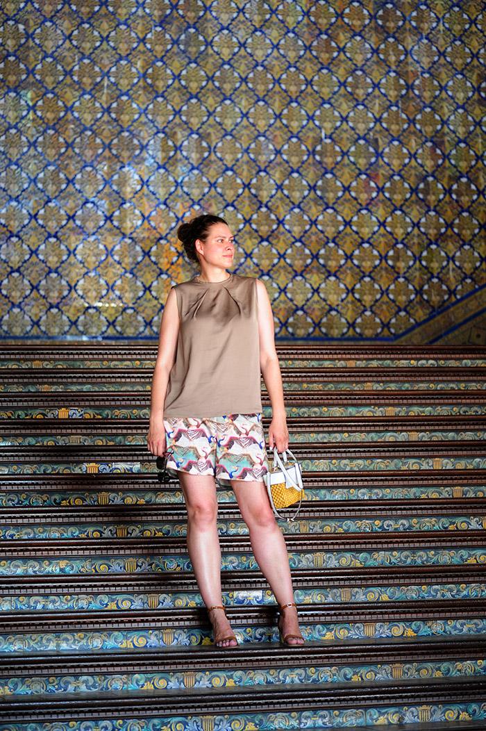 DIY, sewing, nähen, Ottobre design, Burda style, Michael Kors, Prada, Massimo Dutti, Sevilla, Plaza de Espana