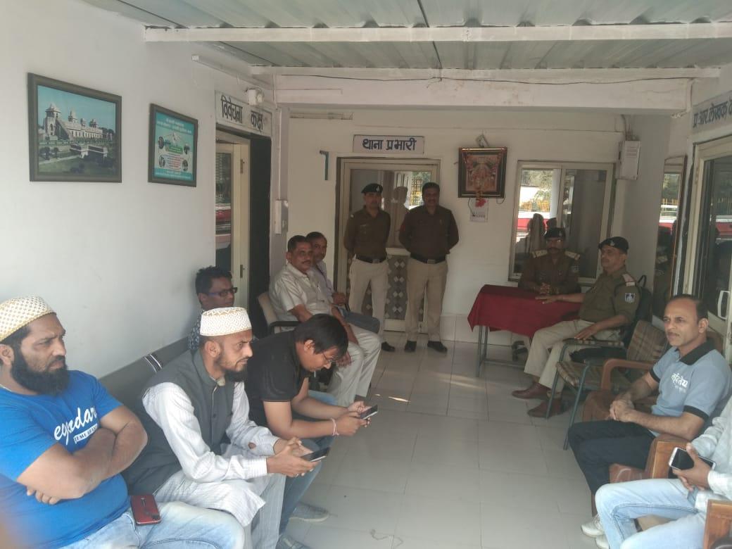 Meghnagar News- रेलवे सुरक्षा समिति की बैठक संपन्न