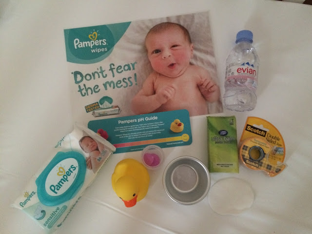 pampers ph testing kit