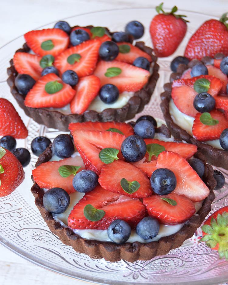 Mini tartas frutales