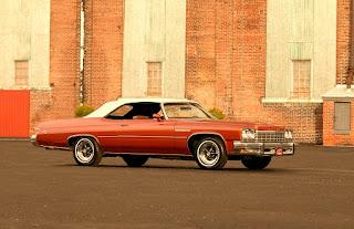 1975 Buick LeSabre Convertible Car