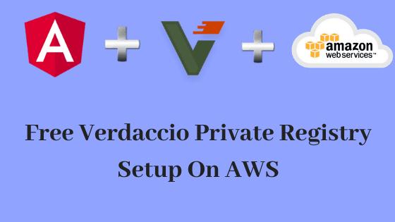 Free Verdaccio Private Registry Setup On AWS