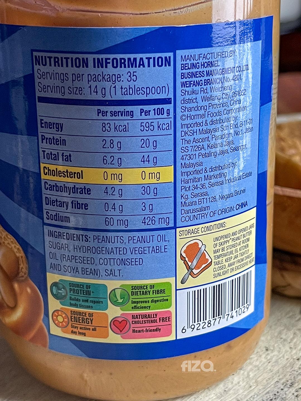 Peanut Butter Skippy Super Chunk Untuk Diet