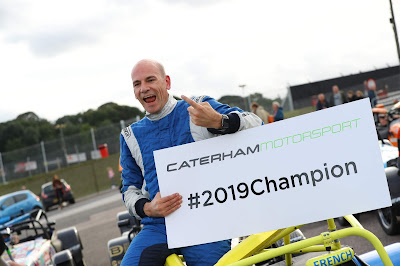 Daniel French - 2019 Caterham 270R Champion!