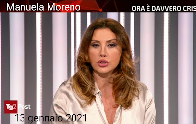 Manuela Moreno tg2 post raidue