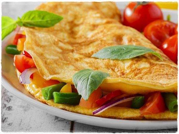 Receita Receta Recipe Omelete Fit