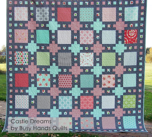 Busy Hands Quilts Castle Dreams Quilt Pattern Cover Update