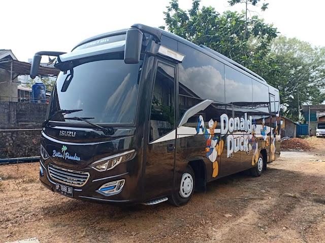 Rental Bus 35 Seaters Tanjung Pinang dan Bintan