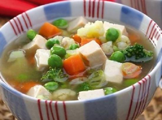 Cara Membuat Resep Bening Tahu Wortel Brokoli