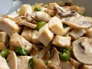 Cook Recipe Sauteed Mushroom Tofu Cabe Ijo