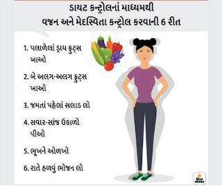 વજન ઘટાડવાના ઉપાય