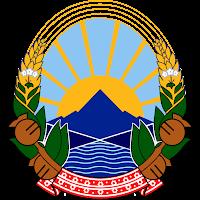Logo Gambar Lambang Simbol Negara Makedonia Utara PNG JPG ukuran 200 px