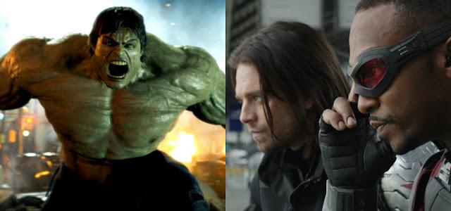 Fotos do set de 'Falcão e Soldado Invernal' mostram referência ao Hulk