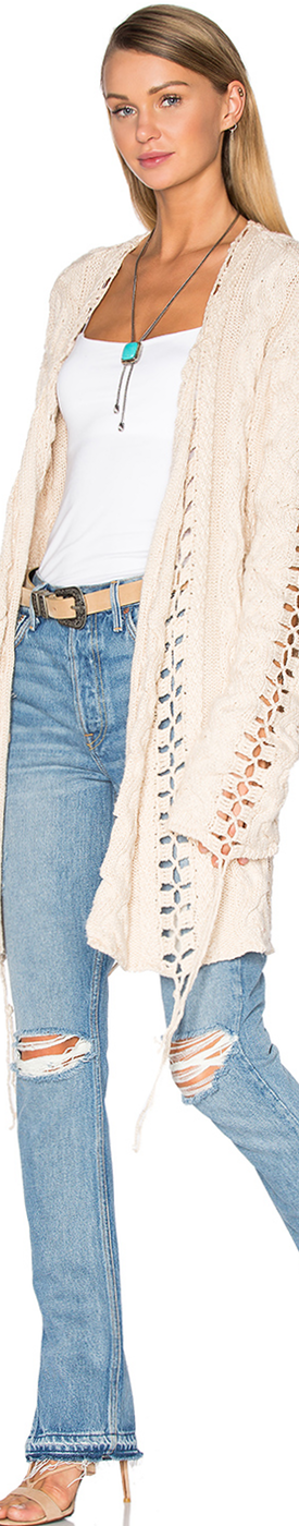 FOR LOVE & LEMONS Knitz Wythe Cardigan