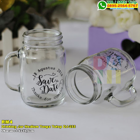 Drinking Jar Medium Tanpa Tutup DJ-255