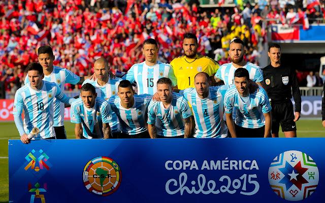 Formación de Argentina ante Chile, Copa América 2015, 4 de julio